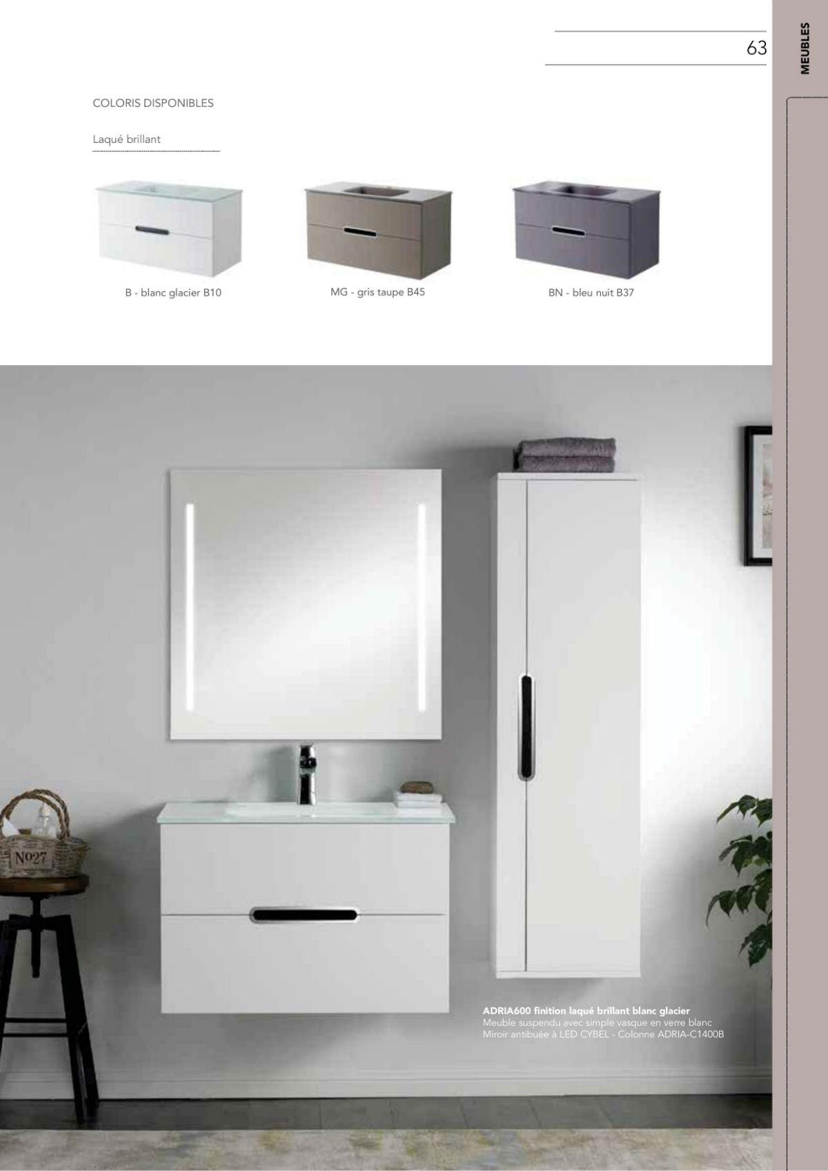 Meuble salle de bain pour rénovation