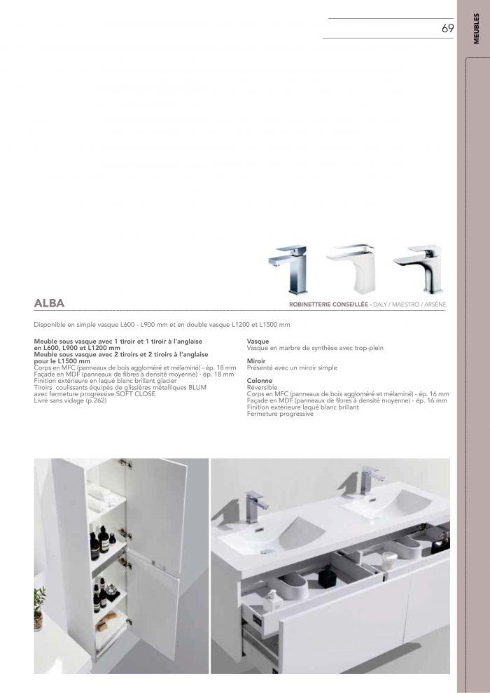 Sanimob vente meuble salle de bain