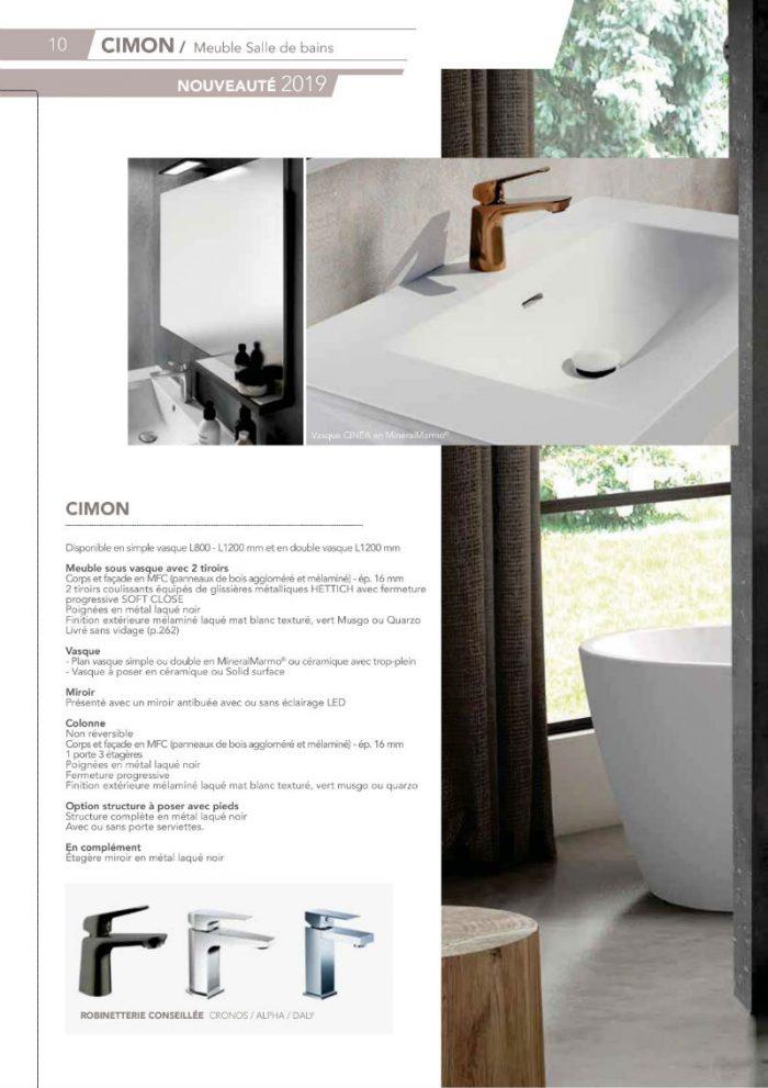 CIMON meuble de salle de bain