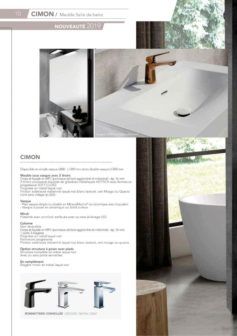 Meuble Pour Vasque Avec Colonne cimon meuble de salle de bain