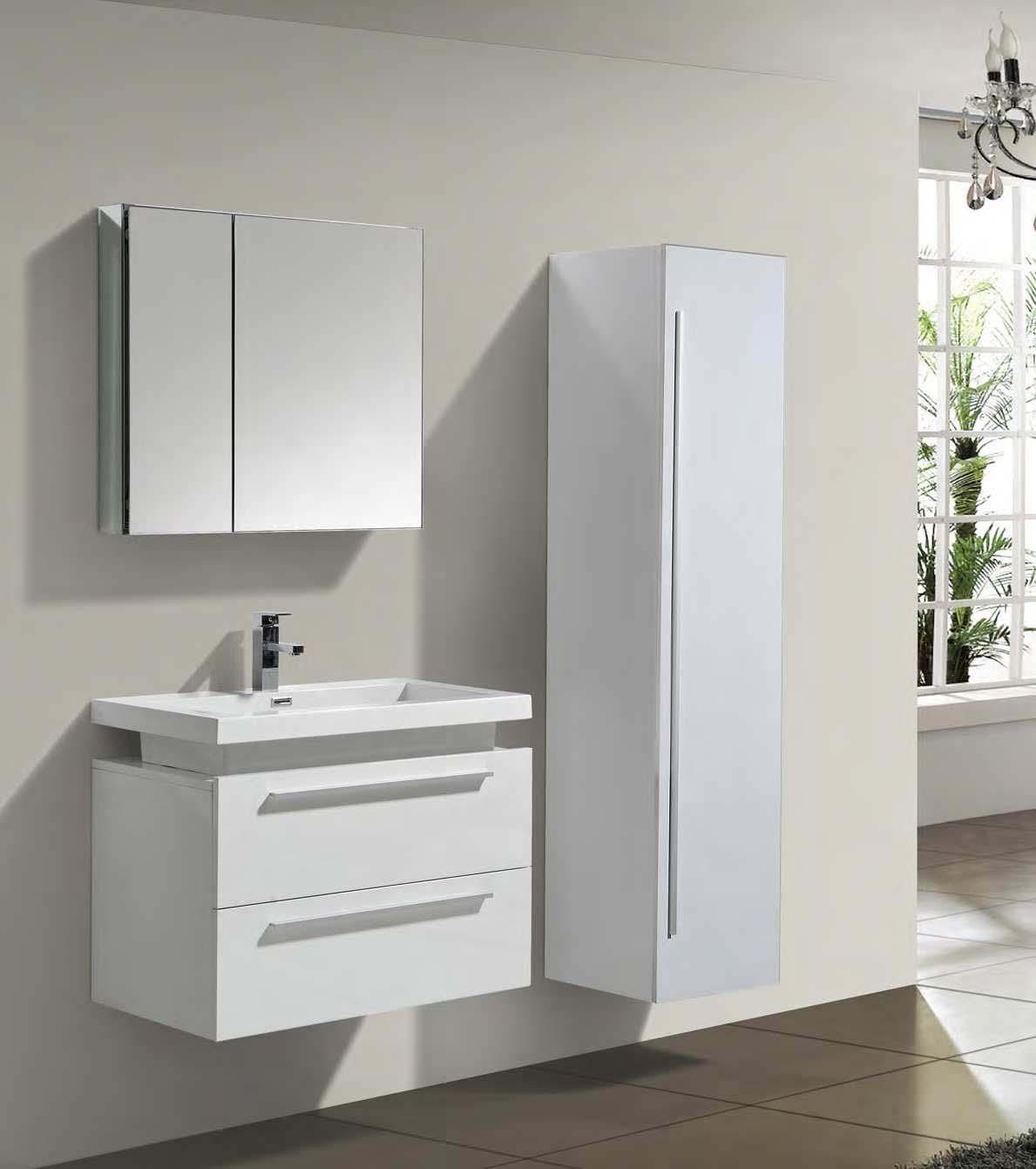 Armoire miroir de salle de bain pour rénovation