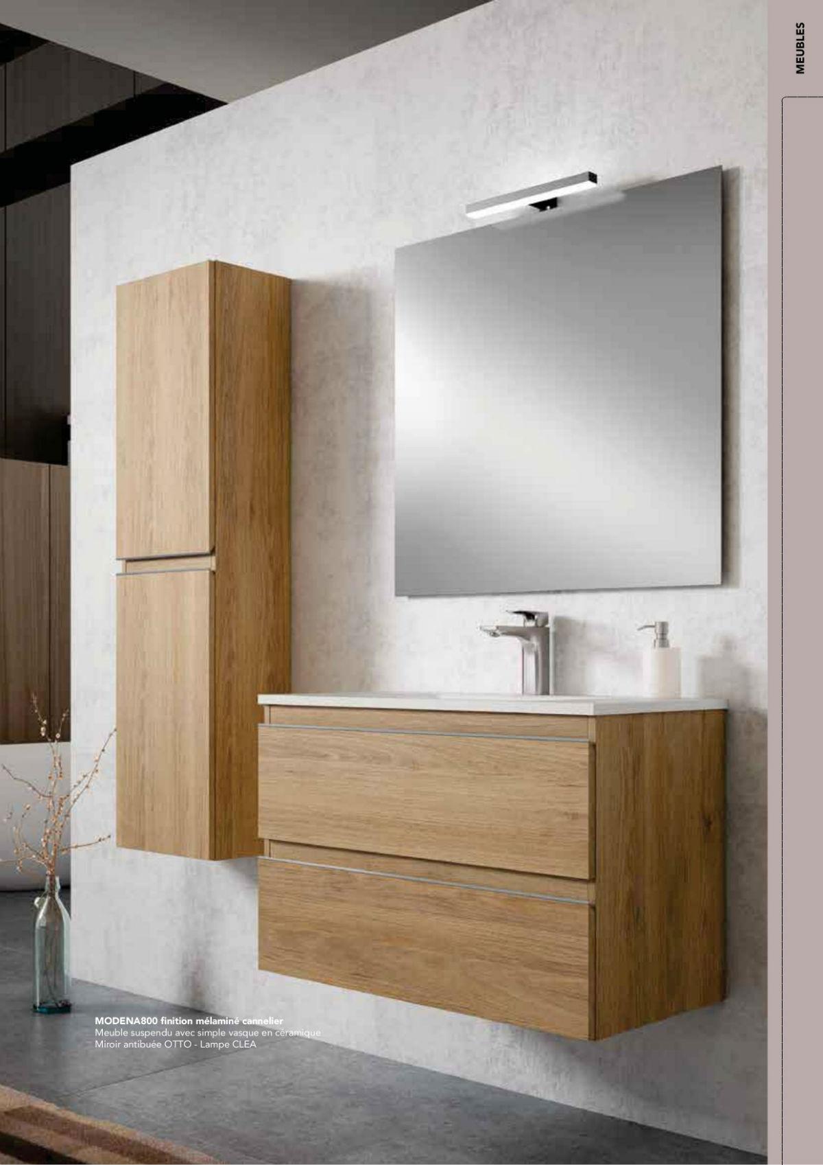 Meuble de salle de bain à rénovation