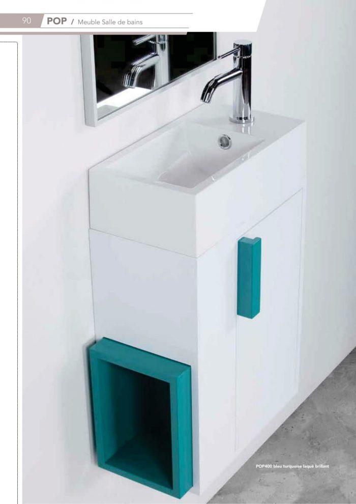 Meuble de WC ou salle de bain